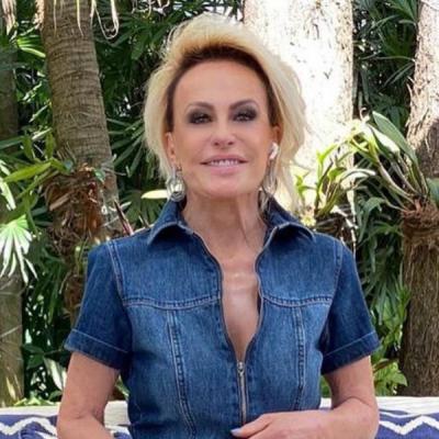 Ana Maria Braga ensina a alongar silhueta com macacão jeans