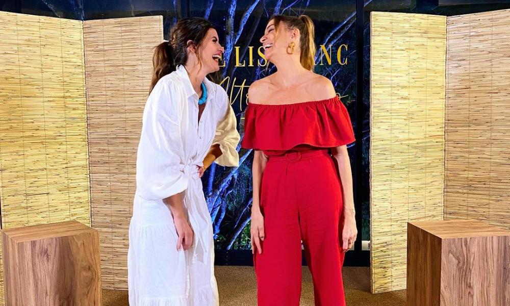 Isabella Fiorentino e Mônica Martelli (Foto: @isabellafiorentino/Instagram/Reprodução)