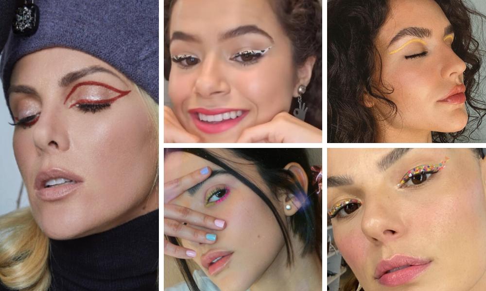 Delineados das famosas (Fotos: Instagram/Reprodução)