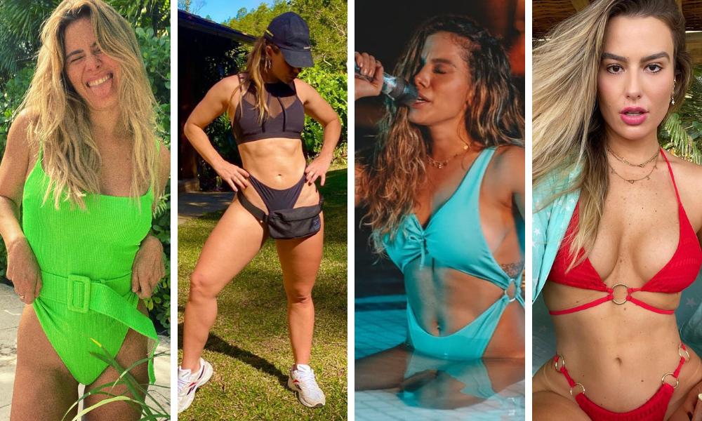Famosas mostram trends da moda praia (Foto: Instagram/Reprodução)