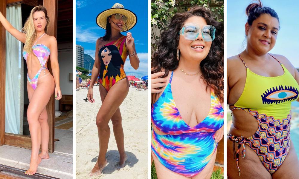 Maiôs das famosas (Fotos: Instagram/Reprodução)