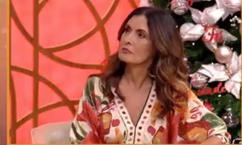 Fátima Bernardes (Foto: TV Globo/Reprodução)