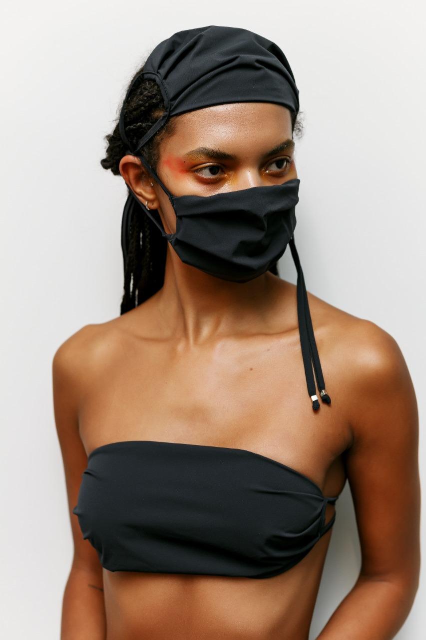 Máscara de Amir Slama (Foto: Divulgação)