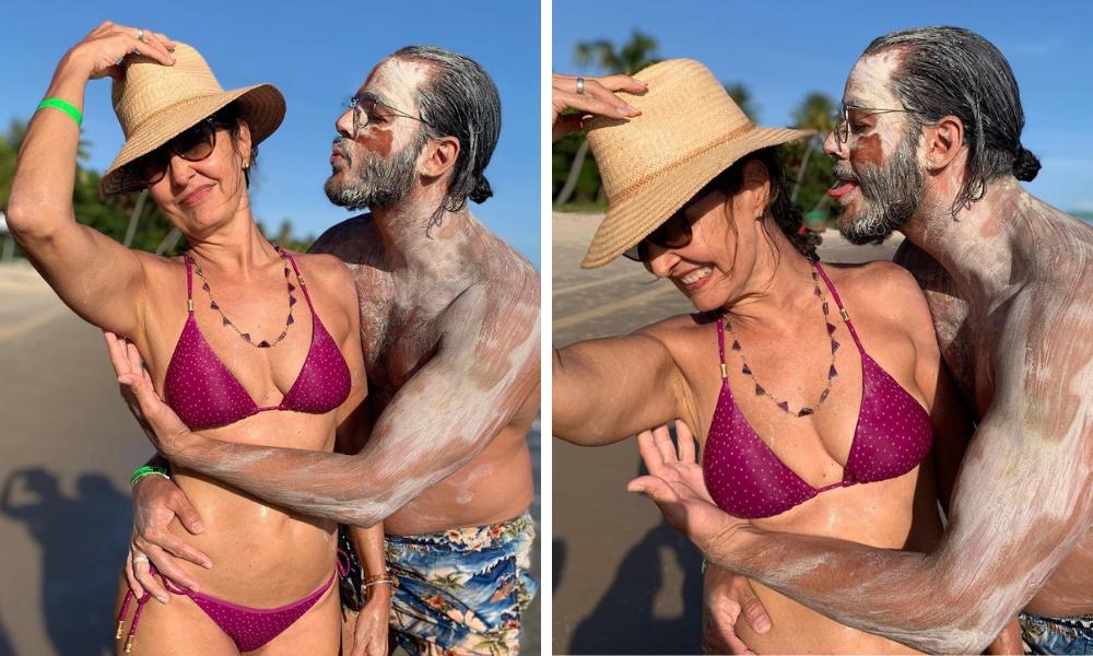 Fátima Bernardes e Túlio Gadêlha (Foto: @tulio.gadelha/Instagram/Reprodução)