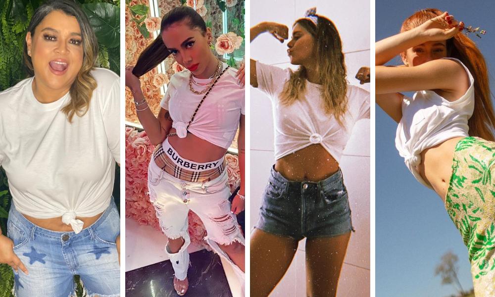Preta, Anitta, Dieckmann e Marina (Foto: Reprodução/Instagram))