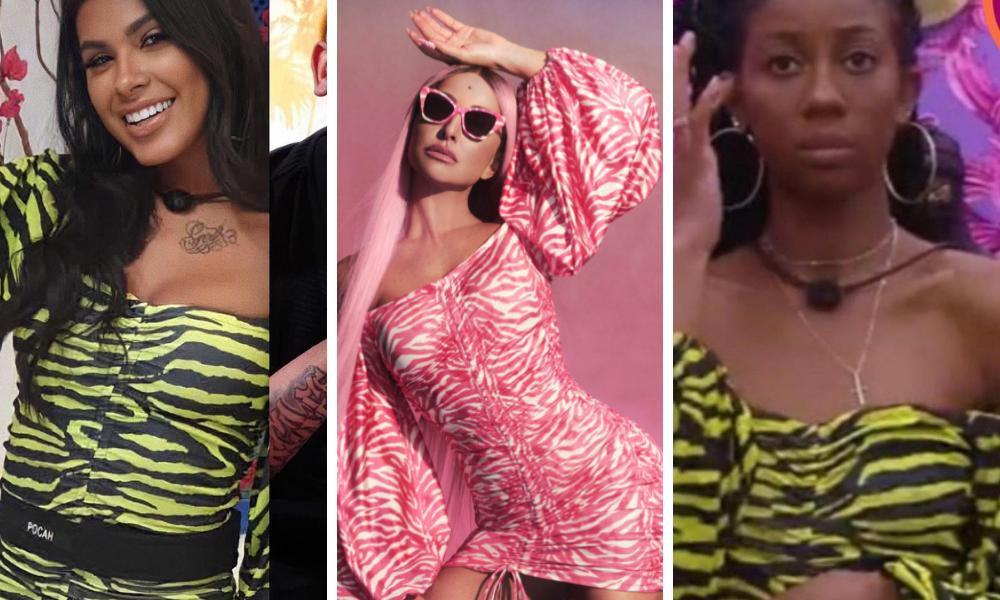 Looks do BBB21 (Foto: Carlota Costa/Reprodução e Instagram/Reprodução – ©️ 2020 TM Endemol Shine Group B.V sob licença Globo)