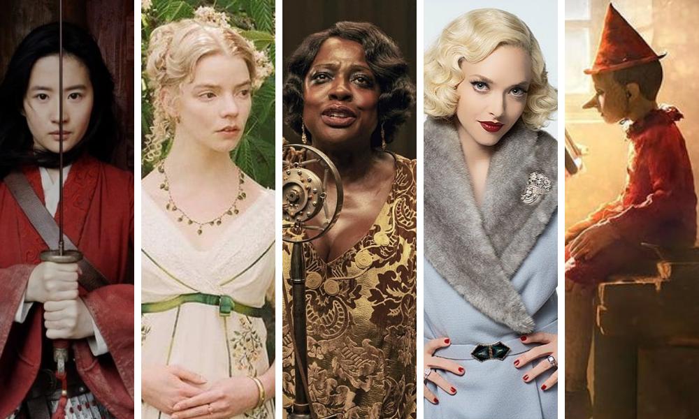 Filmes indicados a Melhor Figurino do Oscar 2021 (Fotos: Reprodução/Instagtam)