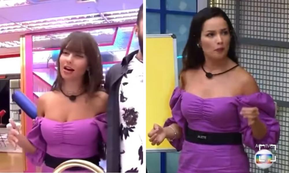 Thaís Braz e Juliette Freire no BBB21 (Foto: Instagram/Reprodução – ©️ 2020 TM Endemol Shine Group B.V sob licença Globo)