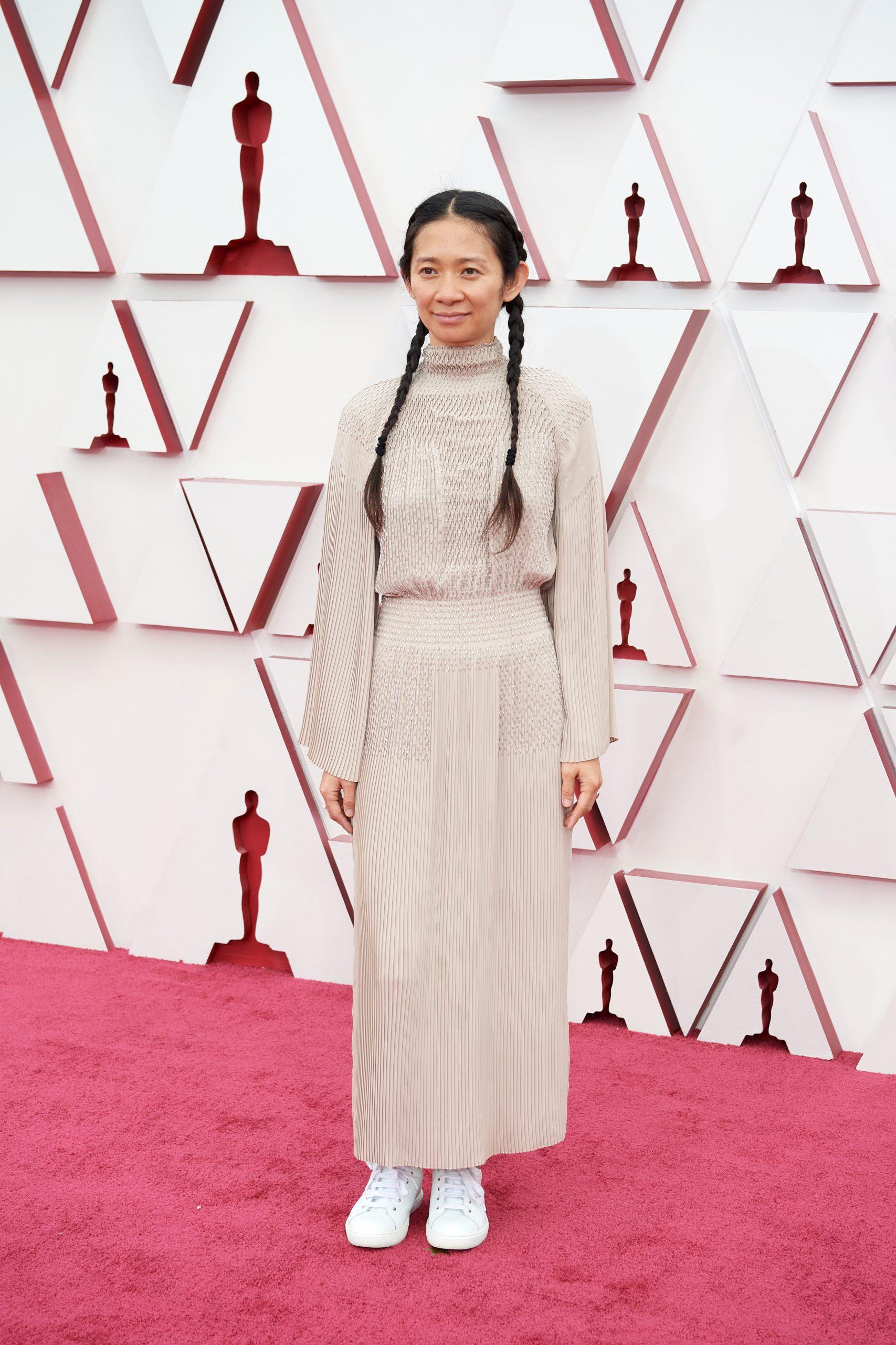 Chloé Zhao (Foto: E!Entertainment/Divulgação)