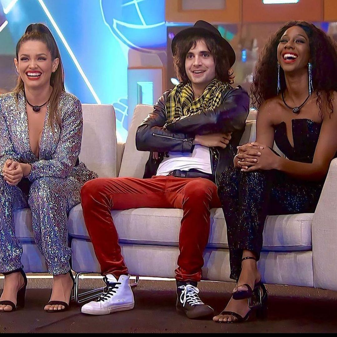 Juliette, Fiuk e Camilla (Foto: Instagram/Reprodução – ©️ 2021 TM Endemol Shine Group B.V sob licença Globo)