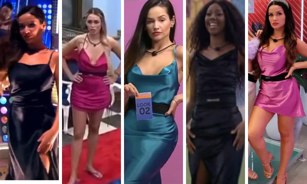 Slip dress no BBB21 Juliette no BBB21 (Foto: Instagram/Reprodução – ©️ 2021 TM Endemol Shine Group B.V sob licença Globo)