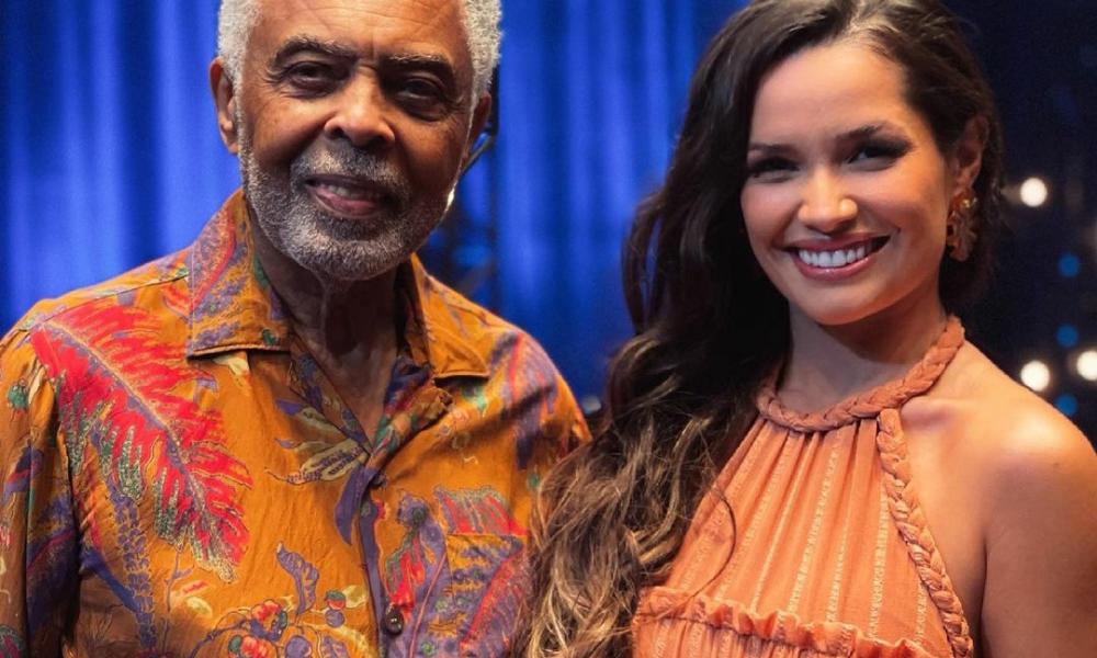 Gilberto Gil e Juliette (Foto: @juliette/Instagram/Reprodução)