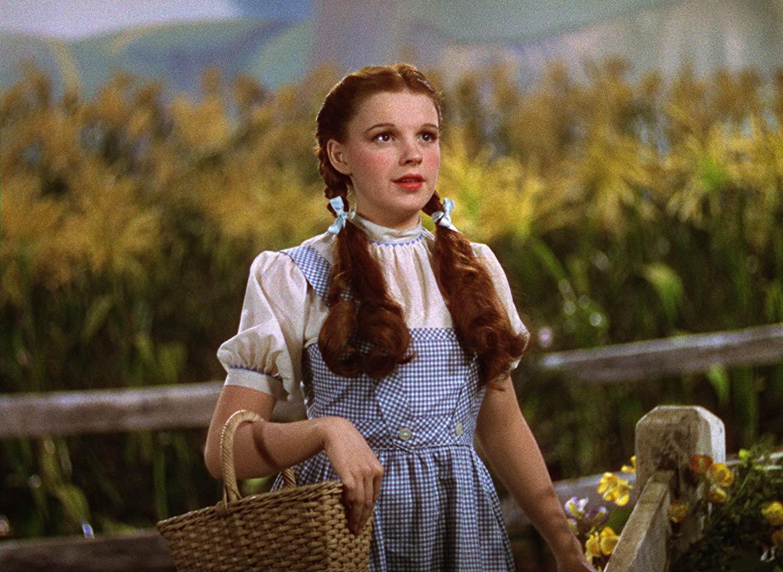 Dorothy (Judy Garland), em O Mágico de Oz (Foto: Reprodução)