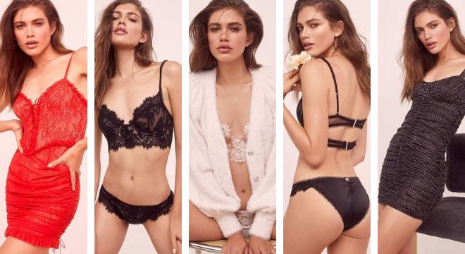 Valentina Sampaio (Fotos: Zoey Grossman/Victoria's Secret/Divulgação)