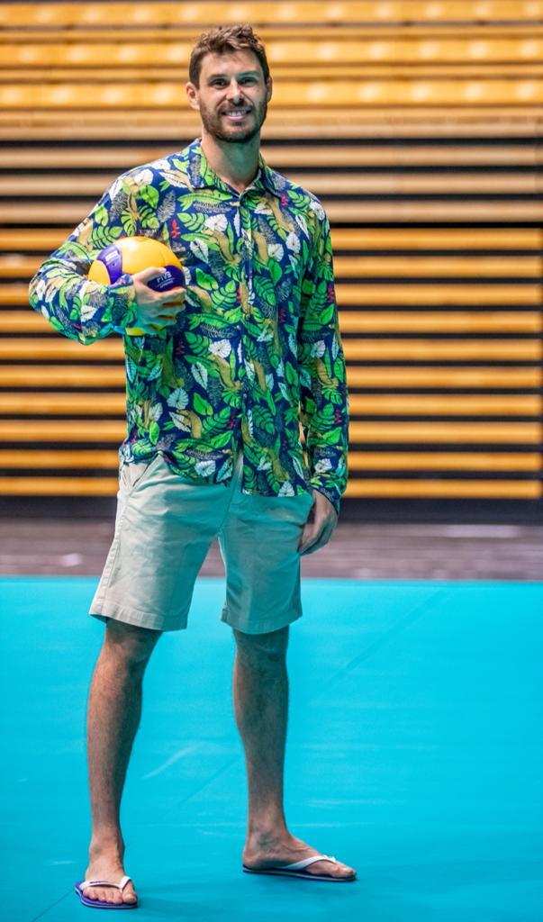 Jogador de vôlei Bruninho Rezende (Foto: Miriam Jeske/Divulgação)