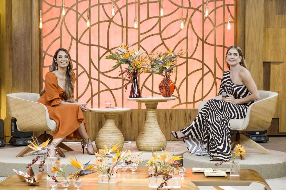 Patricia Poeta e Deborah Secco (Foto: TV Globo/Divulgação)