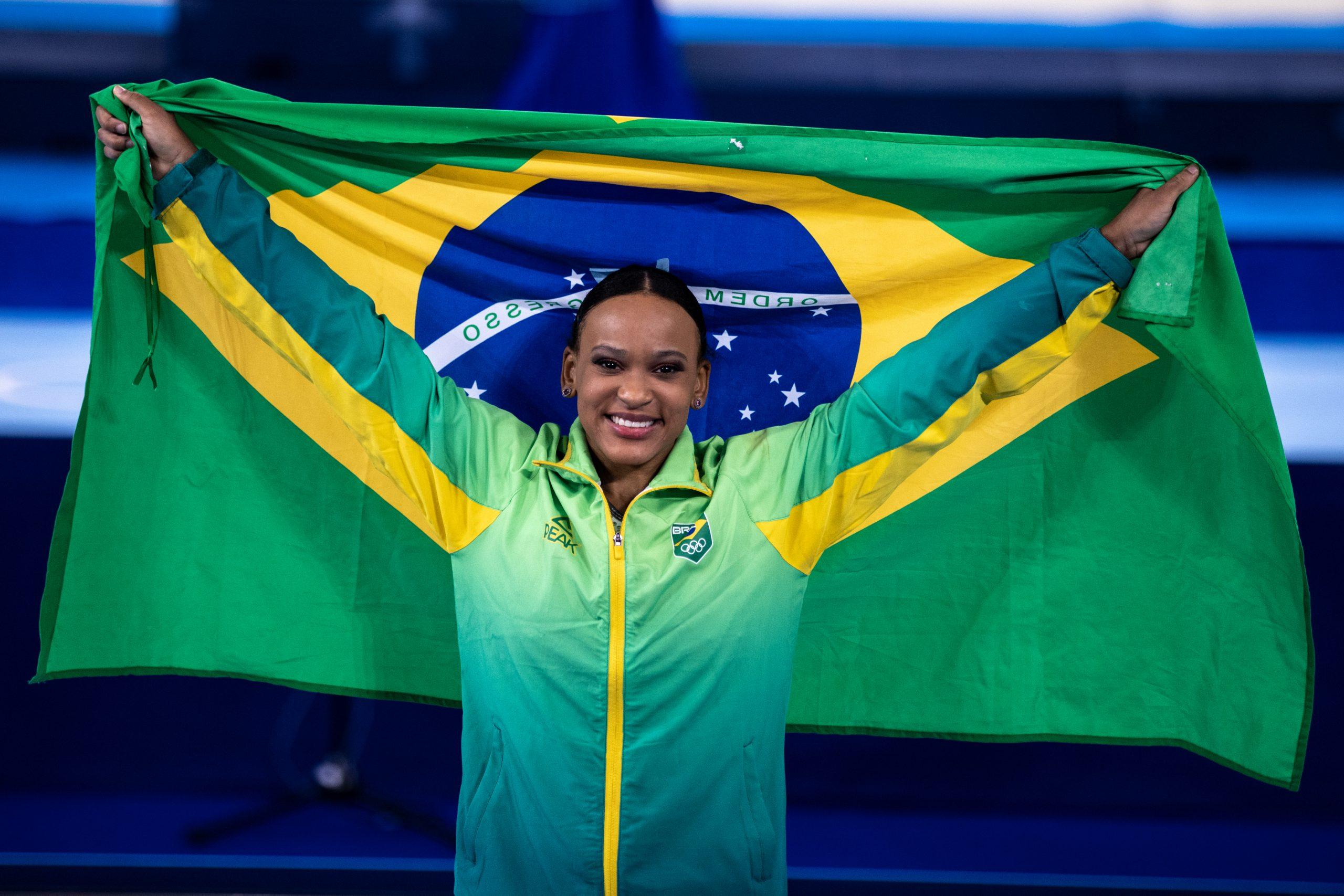 Rebeca Andrade ( Foto: Míriam Jeske/COB/Divulgação)