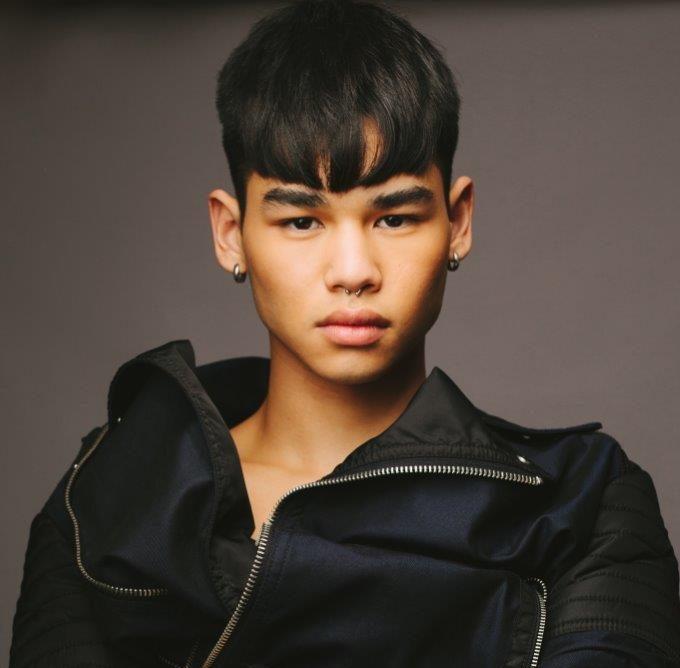 Modelo Mu Teh Lim (Foto: Way Model/Divulgação))