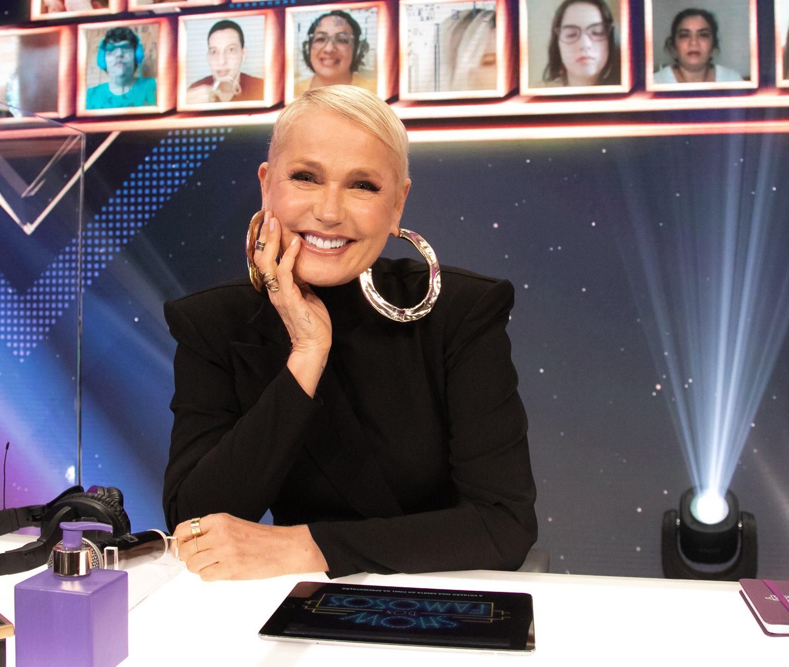 Xuxa (Foto> Marcos Rosa/Divulgação/TV Globo)