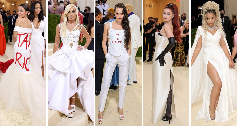 Branco também foi muito visto no Met Gala (Fotos: E! Entertainment/Divulgação)